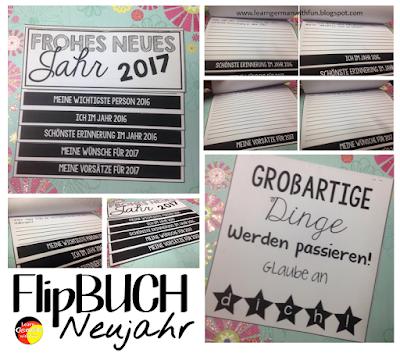 Eine tolle Schreibaktivität zum Thema Neujahr. Übung für den Deutschunterricht oder DaF-Unterricht. Ideal für alle Altersklassen.