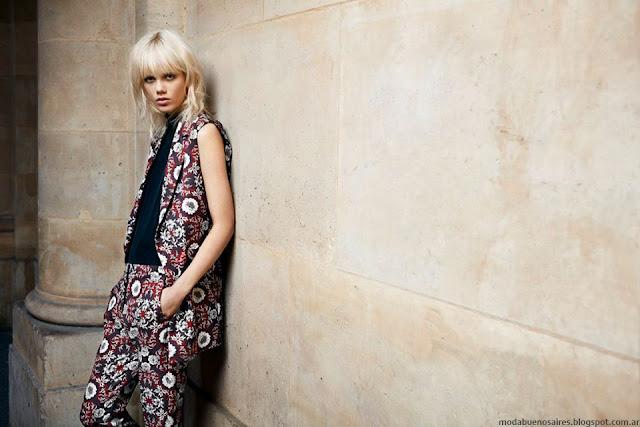 Chalecos de moda otoño invierno 2016 Uma. Colección otoño invierno 2016 Uma.