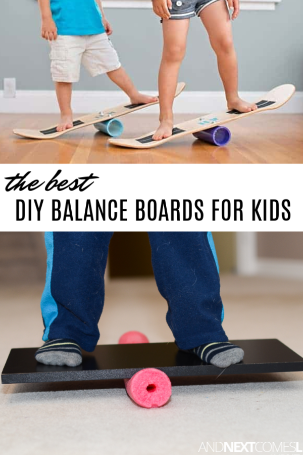 How to make a kids balance board