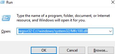 Télécharger Mfc100.dll Fichier Gratuit Installer