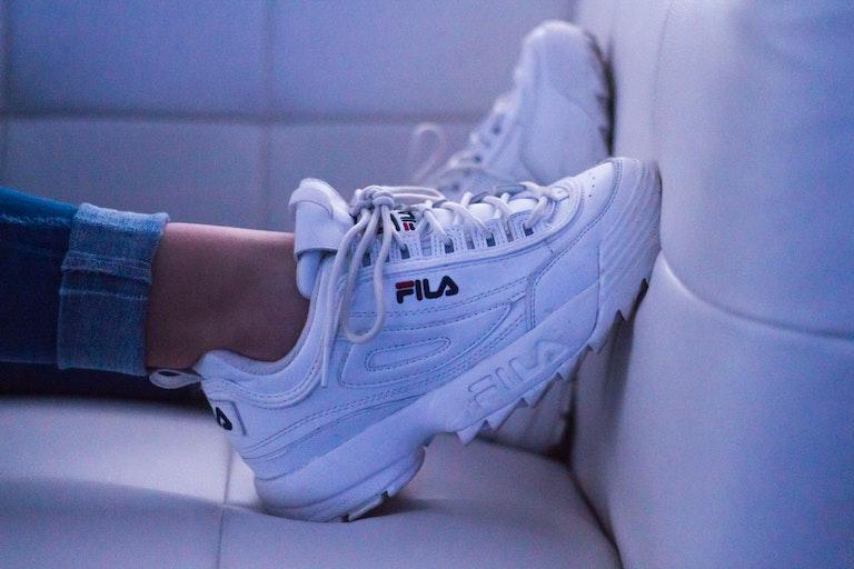 zapatillas de moda fila