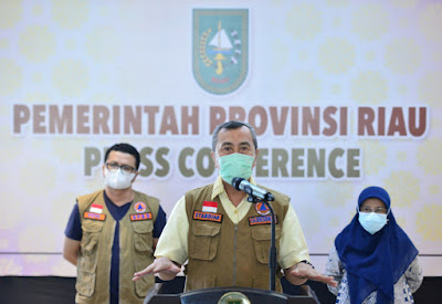 Update Perkembangan COVID-19 Riau