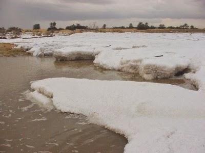 Jajirah Arab Turun Salju Kejadian Langka