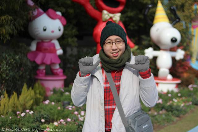 Renz Cheng in Kiddie Area, Universal Studios