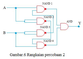 rangkaian kombinasi percobaan 2