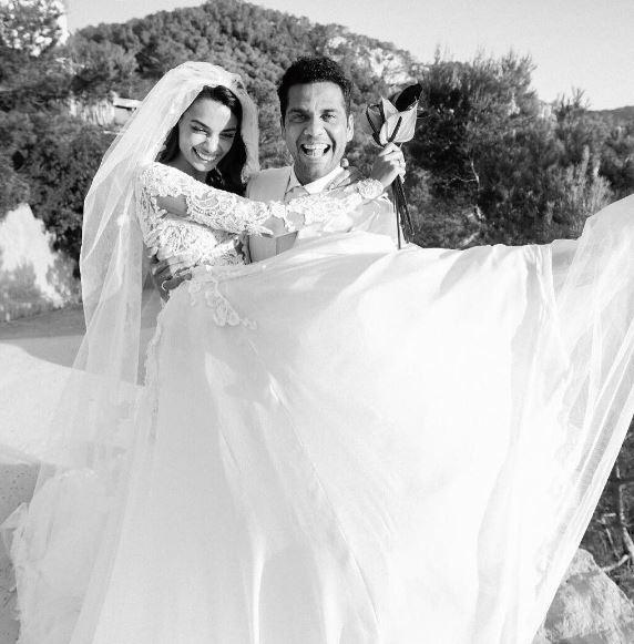 Daniel Alves e noiva