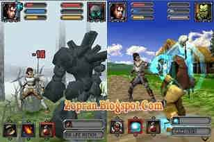 SAEPUL net: Blades and Magic 3D RPG Java Games 128x160
