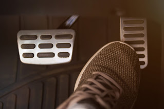 car accelerator pedal
