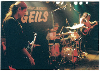 Vodka Collins on stage August 1996 with at the club Geils in Saga Japan
