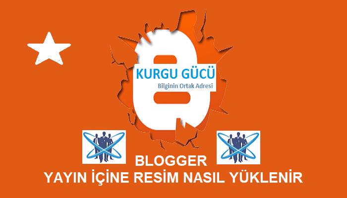 Blogger Yayın İçine Resim Nasıl Yüklenir? Gerçekten Çok Basit! - Kurgu Gücü
