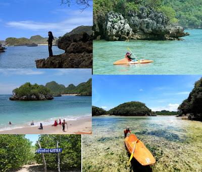 Pantai gatra_Tempat wisata di Malang