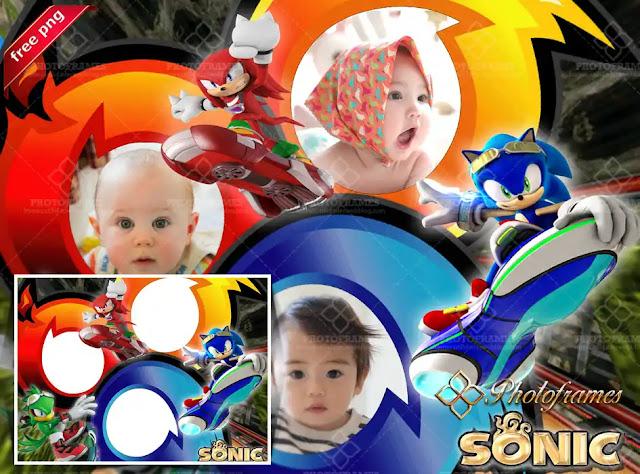 Marco para fotos al estilo Sonic Riders