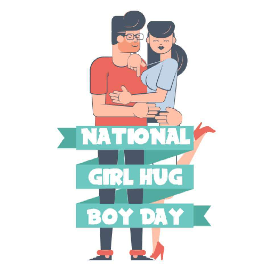 National Girl Hug Boy Day Wishes pics free download