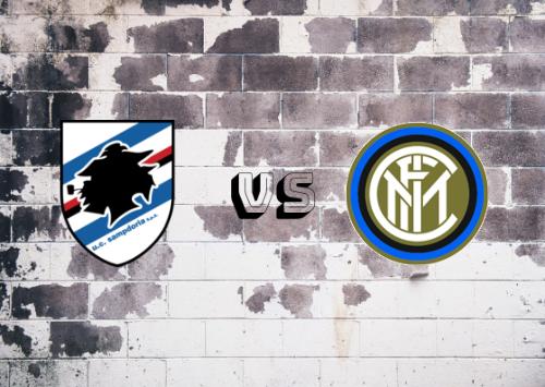 Sampdoria vs Inter de Milán  Resumen y Partido Completo