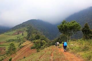 Jalur Pendakian Gunung Cikuray Via Cikajang