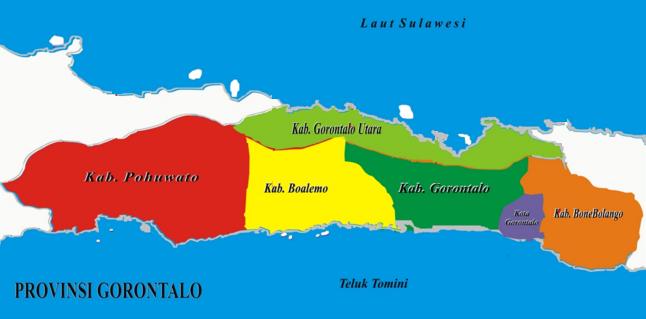 Daftar Kabupaten Dan Kota Di Provinsi Gorontalo Tentang Provinsi