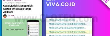 Rahasia!! Inilah Cara Mudah Menanam Backlink di Viva.co.id Gratis, Bookmark Artikel ini !!