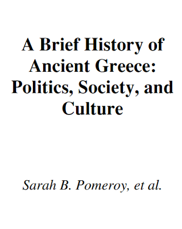 A Brief history Of Ancient Greece: a political, social, and cultural history pdf