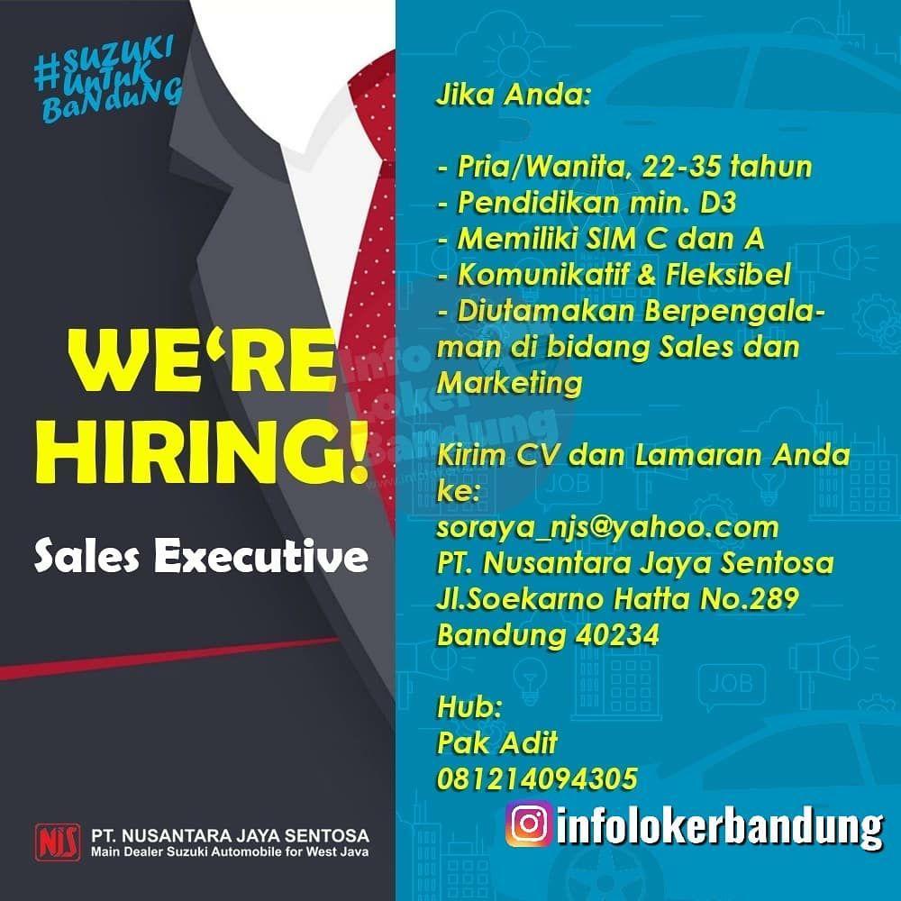 Lowongan Kerja Sales Executive PT. Nusantara Jaya Sentosa Bandung Maret 2020