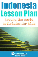 Building the perfect Indonesia lesson plan for your students? Are you doing an around-the-world unit in your K-12 social studies classroom? Try these free and fun Indonesia and bali activities, crafts, books, and free printables for teachers and educators! #indonesia #bali #lessonplan