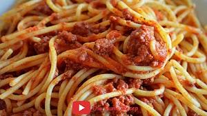 Resep Spaghetti Bolognese Mudah, Praktis, Enak