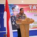 Jelang  Pilkada Kapolda Malut Kunker  ke Polres Morotai
