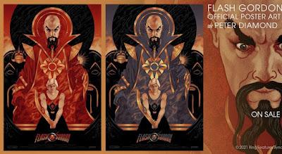 Flash Gordon Screen Print by Peter Diamond x Vice Press