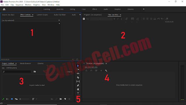 Penjelasan Fitur Adobe Premere Pro CC 2020
