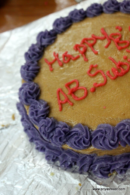 Vanilla Buttercream cake