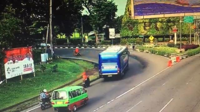Kecelakaan Maut Ditikungan, Bogor