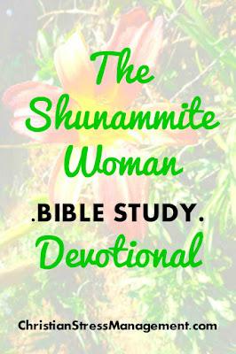 The Shunammite Woman Bible Study Devotional