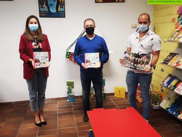 El Paso acerca a los escolares el libro de Víctor Jaubert sobre La Bajada de la Virgen de Las Nieves