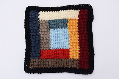1-Crochet Imagen Colcha de restos de lana a crochet y ganchillo por Majovel Crochet