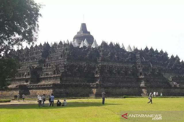 Ilustrasi: Taman Wisata Candi Borobudur . (ANTARA/Heru Suyitno)