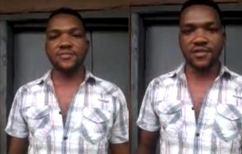 Okoh Godwin, man alleged to be a Boko Haram member from Abia State opens up