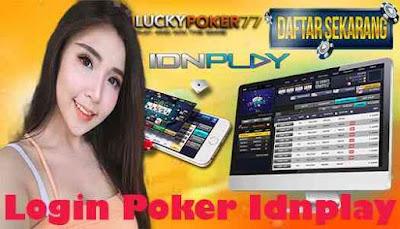 Login Poker Idnplay
