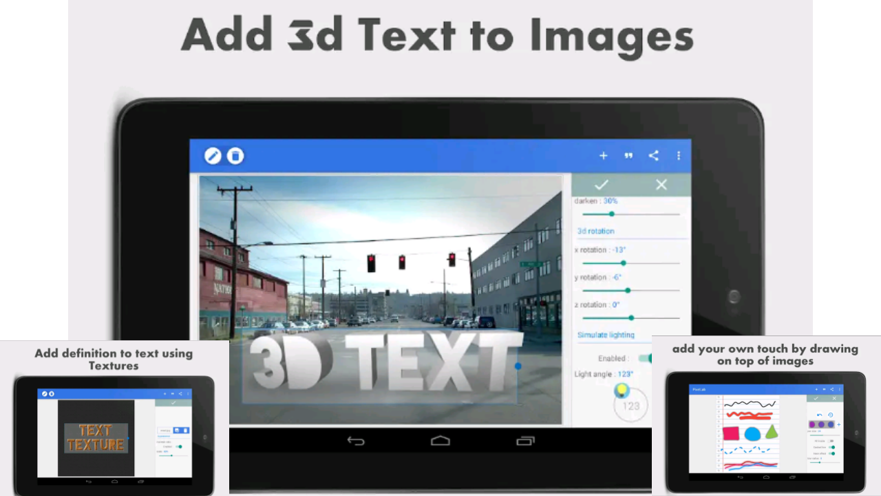 Pixellab: aplikasi pembuat logo text 3D