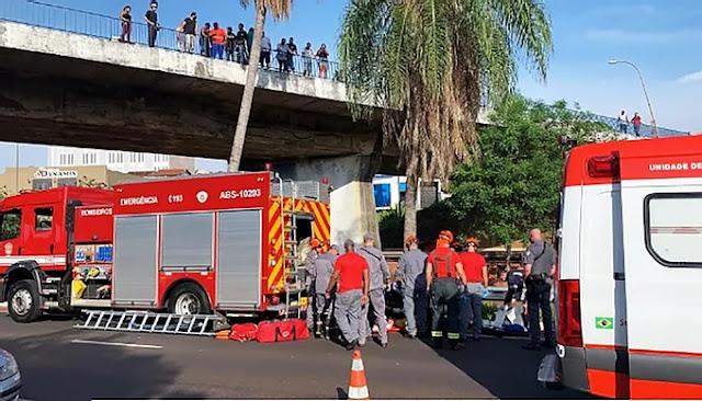 Cadeirante é jogado de viaduto, cai em rio e morre, em Bauru  -  Adamantina Notìcias