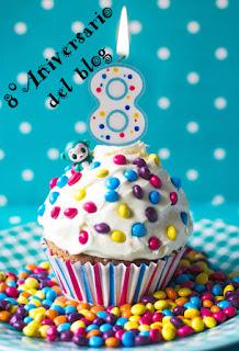 Octavo cumpleaños del blog.