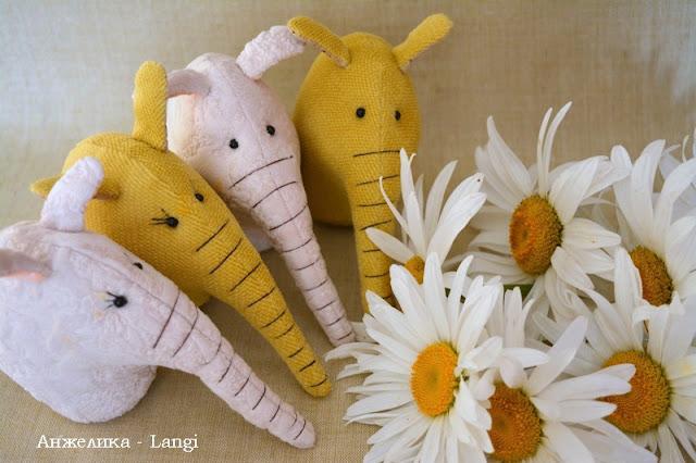 Слоники и ромашки