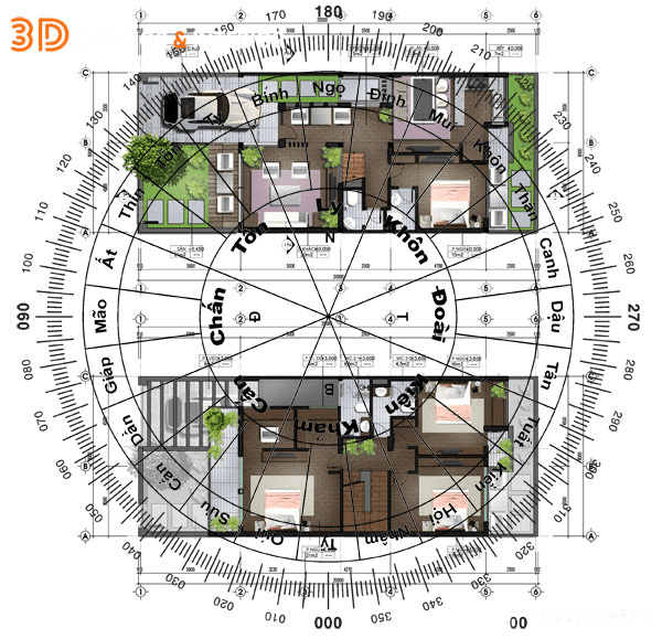 Thiết kế nhà theo phong thủy là việc quan trọng đối với gia chủ. Tuy nhiên, vì sao cần phải thiết kế theo phong thủy?