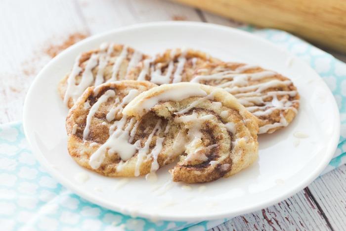 Easy Chewy Cinnamon Bun Sugar Cookies