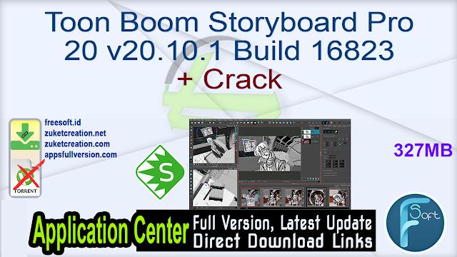 Toon Boom Storyboard Pro 20 v20.10.1 Build 16823 + Crack