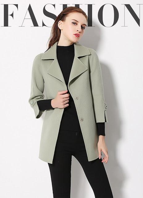 Những mẫu áo khoác du xuân không thể thiếu của chị em