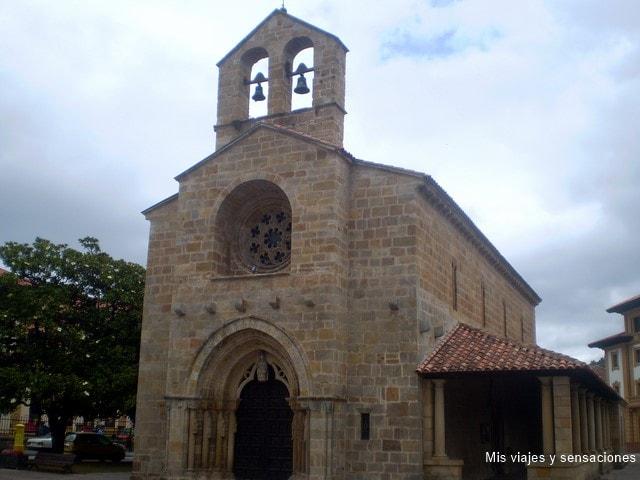 Iglesia de Santa María de la Oliva, Ruta del románico, Asturias