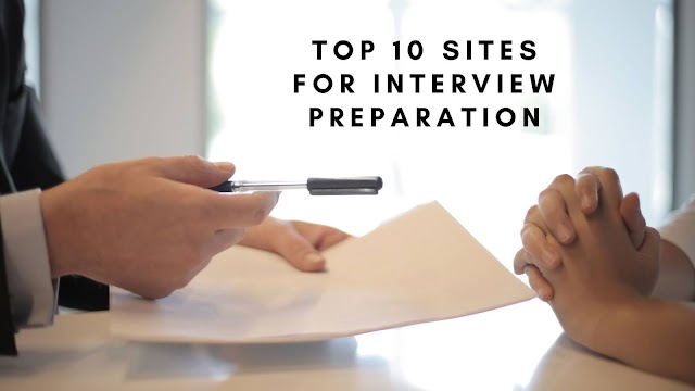 Top 10 websites for interview preparation