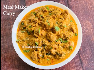 soya chunks curry