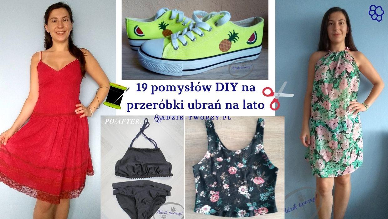 19 przeróbek ubrań DIY na lato!