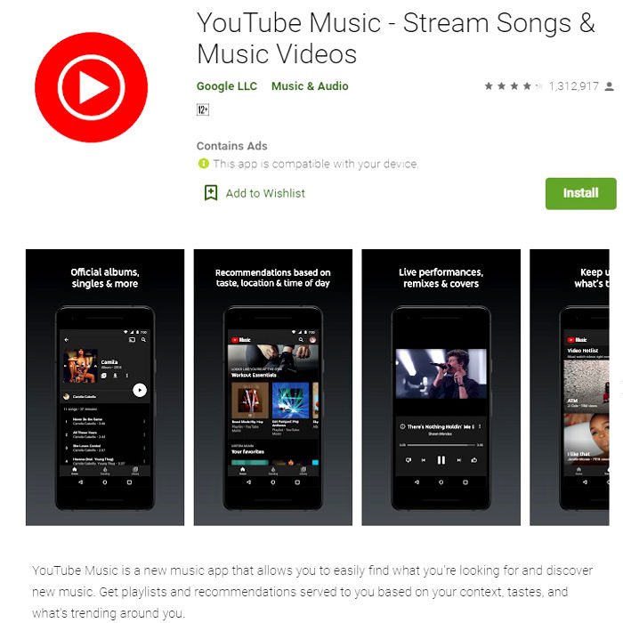Streaming Music, Top Best 04 Free Apps Download [Apps For Andriod]