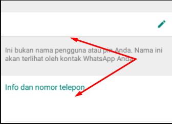 Cara Membuat Nama Kosong Whatsapp Dengan Mudah Lucky Makelar